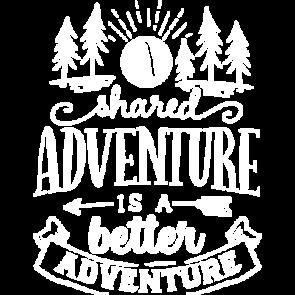 A Shared Adventure White