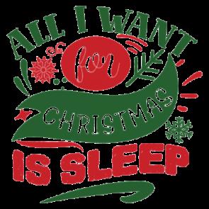 All I Want For Christmas Is Sleep 01