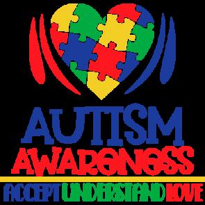 Autism Awareness - Accept Understand Love