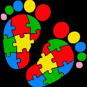 autism baby feet