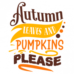 Autumn Leaves And Pumpkins Please 01