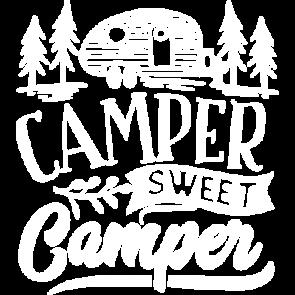 Camper Sweet Camper White