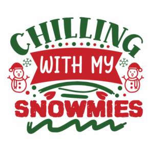Chilling With My Snowmies 01