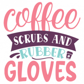Coffee Scrubs And Rubber Gloves 01