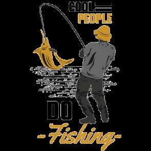 Cool People Do Fishing