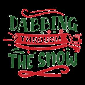Dabbing Through The Snow 01
