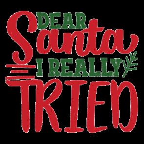 Dear Santa I Really Tried 2 01