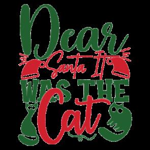 Dear Santa It Was The Cat 01