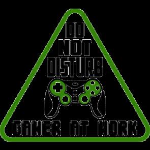 Do Not Disturb Gamer At Work Gaming Tshirt