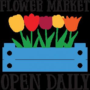 Flower Market Open Daily