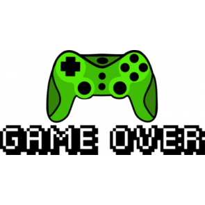 Game Over Gaming Tshirt