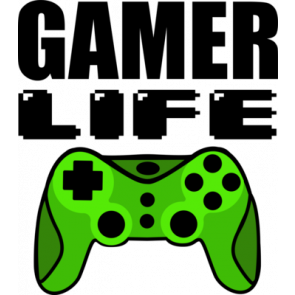 Gamer Life Gaming Tshirt