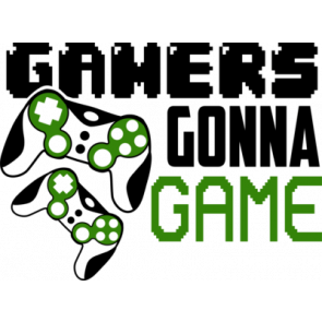 Gamers Gonna Game Gaming Tshirt
