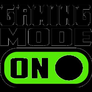 Gaming Mode On Gaming Tshirt