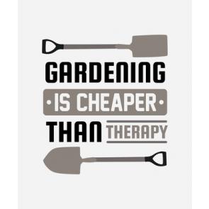Gardening Is Cheaper...