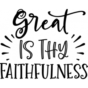 Great Is Thy