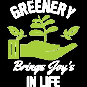 Greenery Brings Joys In Life