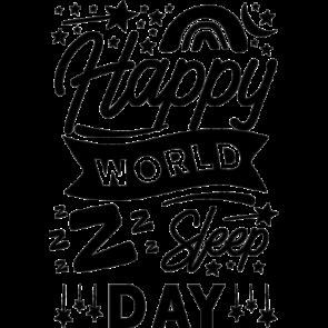 Happy World Day Sleep Day