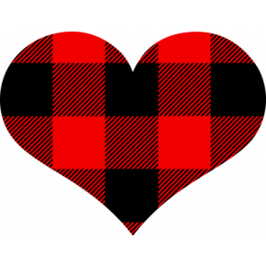 Heart With Plaid
