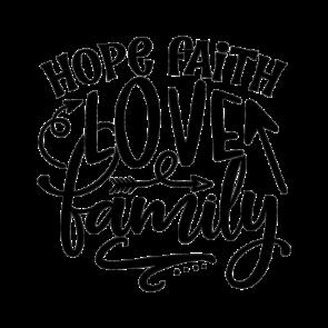 Hope Faith Love Family 01