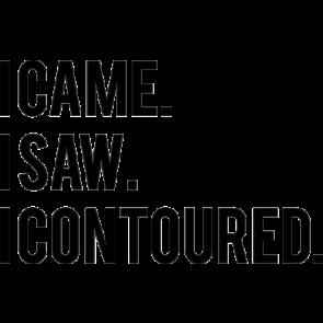 I Came I Saw I Contoured