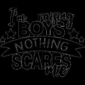 Im  Raising Boys Nothing Scares Me