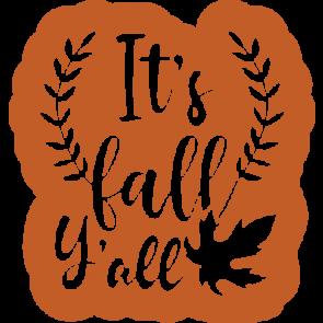 Its Fall Yall