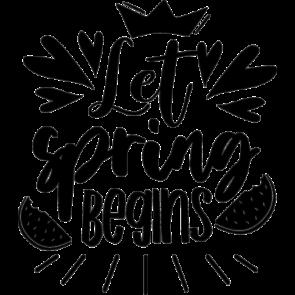 Let Spring Begins