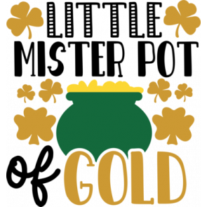 Little Mister Pot Of Gold