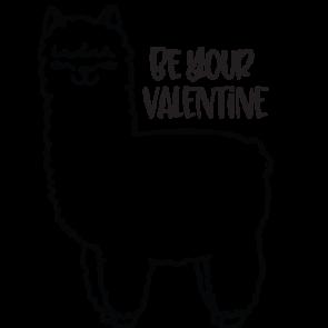 Llama Love Your Valentine