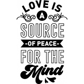 Love Is A Source Of Peace For The Mind