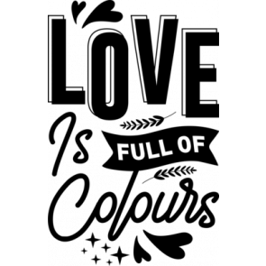Love Is Full Of Colours
