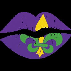 Mardi Gras Lips 1