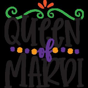 Mardi Gras Queen Of Mardi