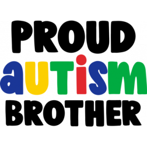 Proud Autism Brother