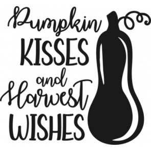 Pumpkin Kisses And Harvest Wishes 238