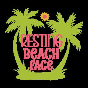 Resting Beach Face 01