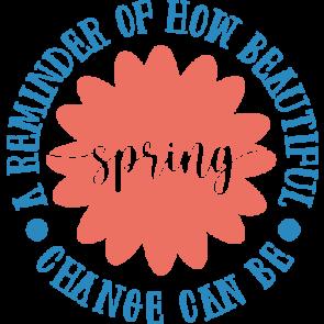 Spring Circle Text