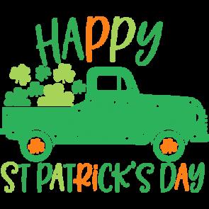 St Patricks Truck Happy St Patricks Day