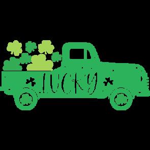 St Patricks Truck Lucky
