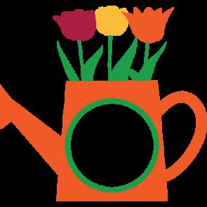 Watering Can Monogram